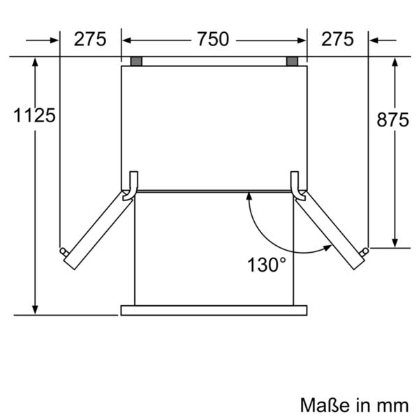 siemens french door nicheh jde 191 1 cm st l med. Black Bedroom Furniture Sets. Home Design Ideas